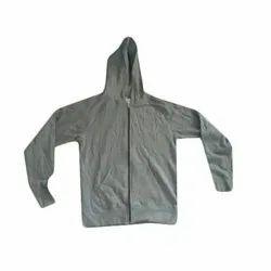 Full Sleeve Cotton, Boys Hooded Jacket