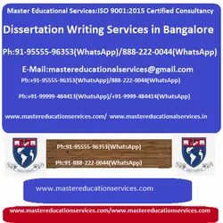 Dissertation Writing Services in Bangalore