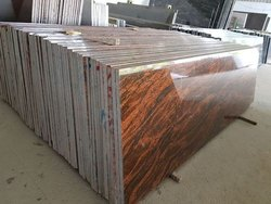 Polished Red Granite Stone for Flooring