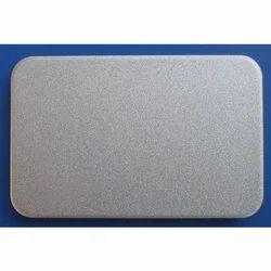 Bright Silver Metallic Aluminum Composite Panel