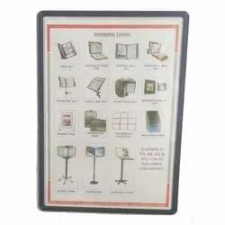 SOP Display Information Magnetic Folder