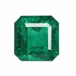 Octagon Cut Zambian Emerald