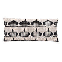 Designer Woven Cotton Pillow Cover