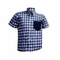 Summer Namo Clothing Half Sleeves School Uniform Shirts, Size: 22-42