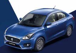 Blue Maruti Suzuki Dizire Car