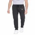 Men Short Length Printed Cotton Track Pant