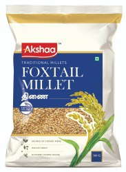 Organic Pure Foxtail Millet, Packaging Type: Packet, High in Protein