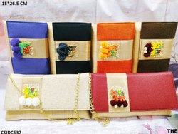 Beautiful Jute Clutch Bag