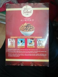 Dhamani Select Almonds, Packaging Type: Vacuum Bag, Packaging Size: 250 Gm