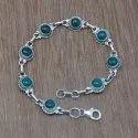 Pearl Gemstone 925 Sterling Silver Jewelry Bracelet