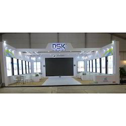 Decoration Acrylic Fabrication Outdoor Exhibition Stall Service, Pan India
