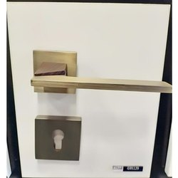 Golden Rumex Brass Door Lock, Polished