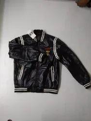 Full Sleeve Polyester Black Boys Jacket