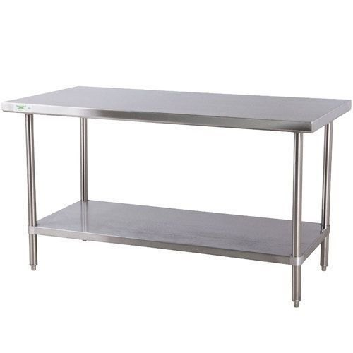 Jindal Ss Powder Coated Two Tier Stainless Steel Table, for Hotel
