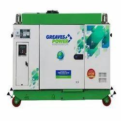 Diesel Greaves Power 3.5 KVA Portable Generators