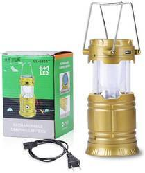 Solar Lantern With Mobile Charge Facility