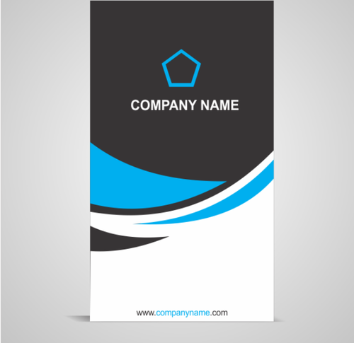 vertical business cards pw5013 - Vertical Business Cards