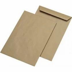 Paper Kraft Envelopes, for Office, Square