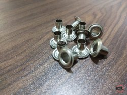 9mm Brass Eyelets & Washers Nickel