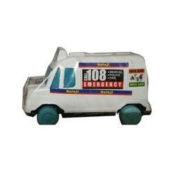 Balaji Plastic Ambulance Toy