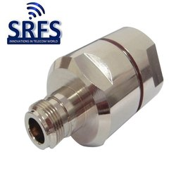 N Female Connector for 7 By 8 Feeder Cable