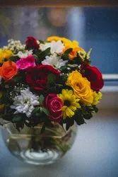 Exotic Multicolor Flowers Arrangements, Depends On Order