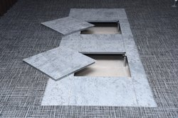 Steel Cementitious Raised Flooring Flooring