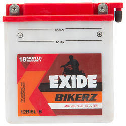 Exide 14 Ah Bikerz Battery, Voltage: 12 V