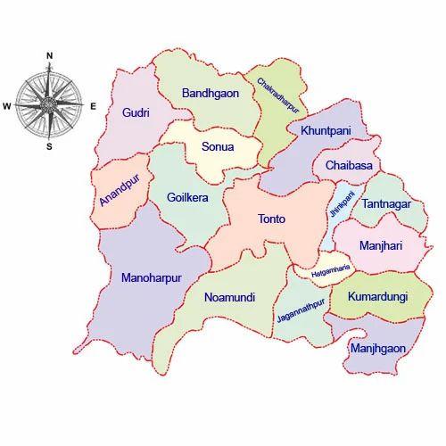 Map New Delhi District Map, पॉलिटिकल स्टेट मैप्स