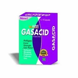 Food Grade Gasacid Capsule, Packaging Type: Box