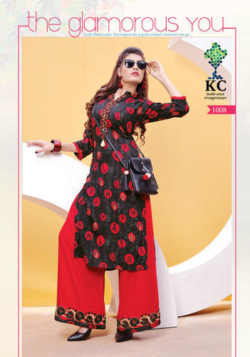 Formal Wear Printed Designer Kurtis