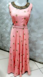Rayon Stitched Ladies Designer Salwar Suits, Dry Clean