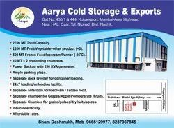 Dairy Products Cold Storage Services, Automation Grade: Fully Automatic