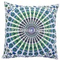 Indian Square Mandala Cushion Cover