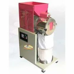 Single Phase Stainless Steel Krishna Industrial SS 2 In 1 Masala Pulverizer Machine, Capacity: 80 To 90 Kg Per Hour