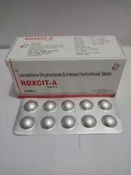 Levocetirizine Dihydrochloride and Ambroxol Hydrochloride Tablets
