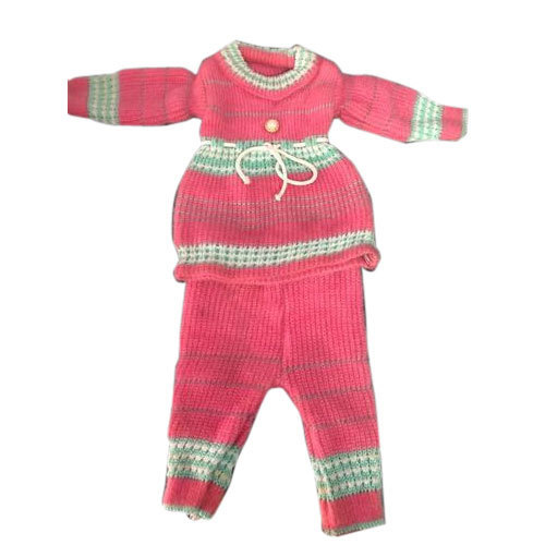 4b20476b0 Oh Baby Woolen Baby Girl Knitted Frock Suit, Rs 120 /set | ID ...