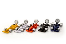 ZEGAR Multicolor Racing Car with Clock, for OFFICE