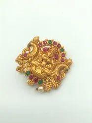Matte Finish Saree Pin Collection - D 5051 RG