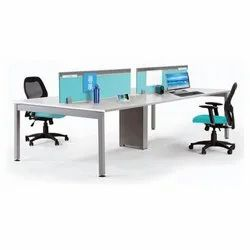 Desking with Screen Office Workstation