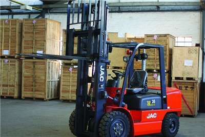 Jac 3t Forklift Rental Services, Order Picker, Reach Truck
