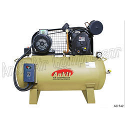Two Stage Reciprocating Air Compressor, Model No: Ac 542