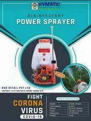 Hymatic Brass Power sprayer for sanitizer