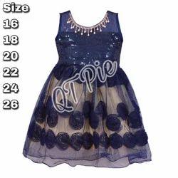 QT Pie Girls Party Wear Frock Dress DN 2402nb