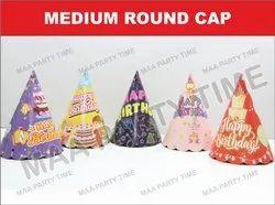 MEDIUM ROUND CAP