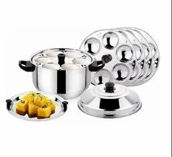 30 Idli Pot with Steamer Plate