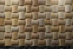 Mint Bamboo Line Mosaic