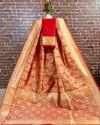 Banarasi Art Silk Self Weaving Saree