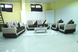 Wooden Hall Designer Sofa Set