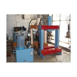 Lever Type Hydraulic Plate Making Machine